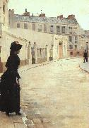 Jean Beraud The Wait (san11) oil painting artist